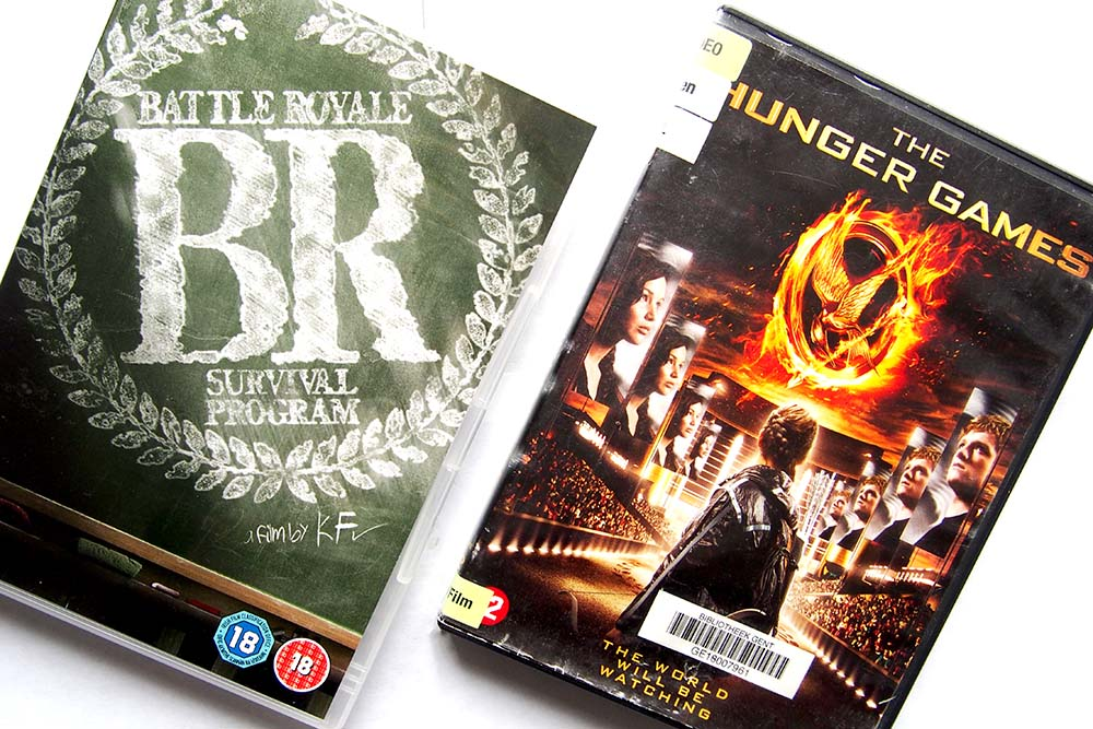 Wat The Hunger Games en Battle Royale overeenkomstig hebben