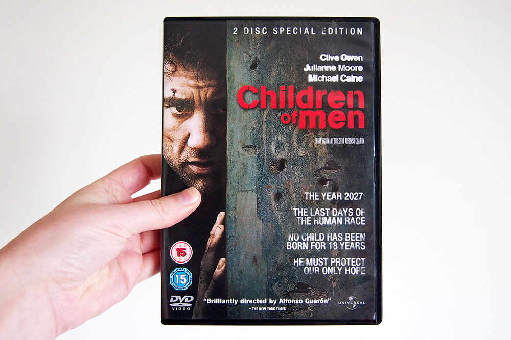 Children of Men boekverfilming