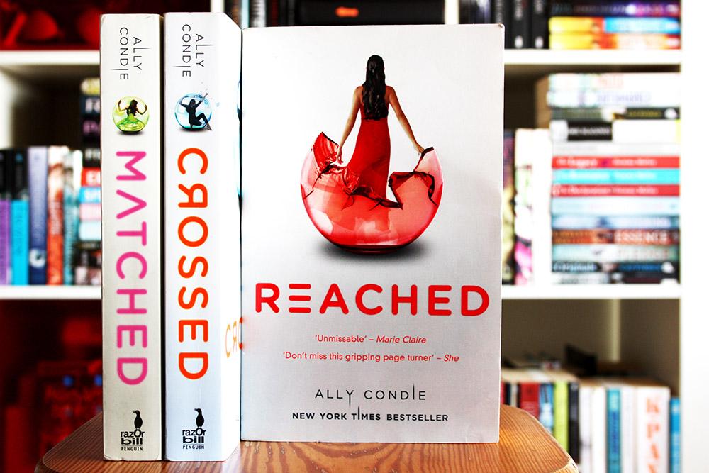 Science Fiction boeken voor zwijmelaars: Matched - Ally Condie