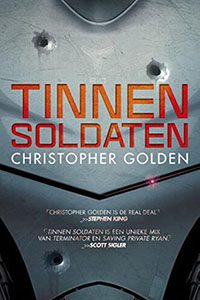 Tinnen soldaten: realistische science fiction thriller over robots en terrorisme