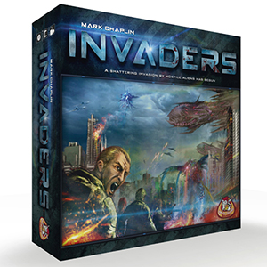 Bordspel: Invaders
