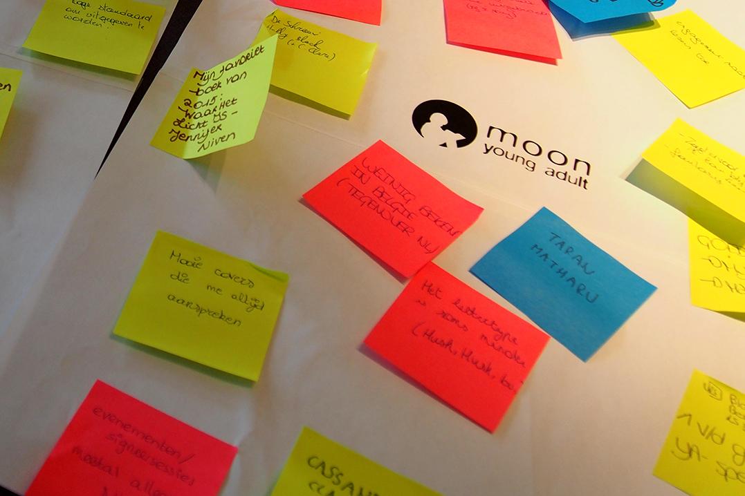 Vlaamse Young Adult brainstorm bij Moon