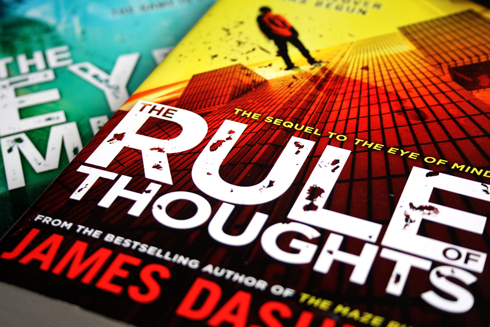 The Rule of Thoughts - James Dashner