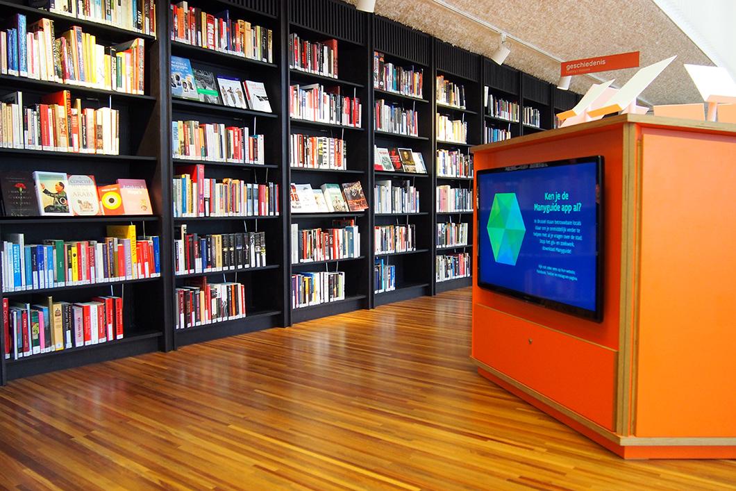 Een bezoekje aan de Brusselse bibliotheek Muntpunt