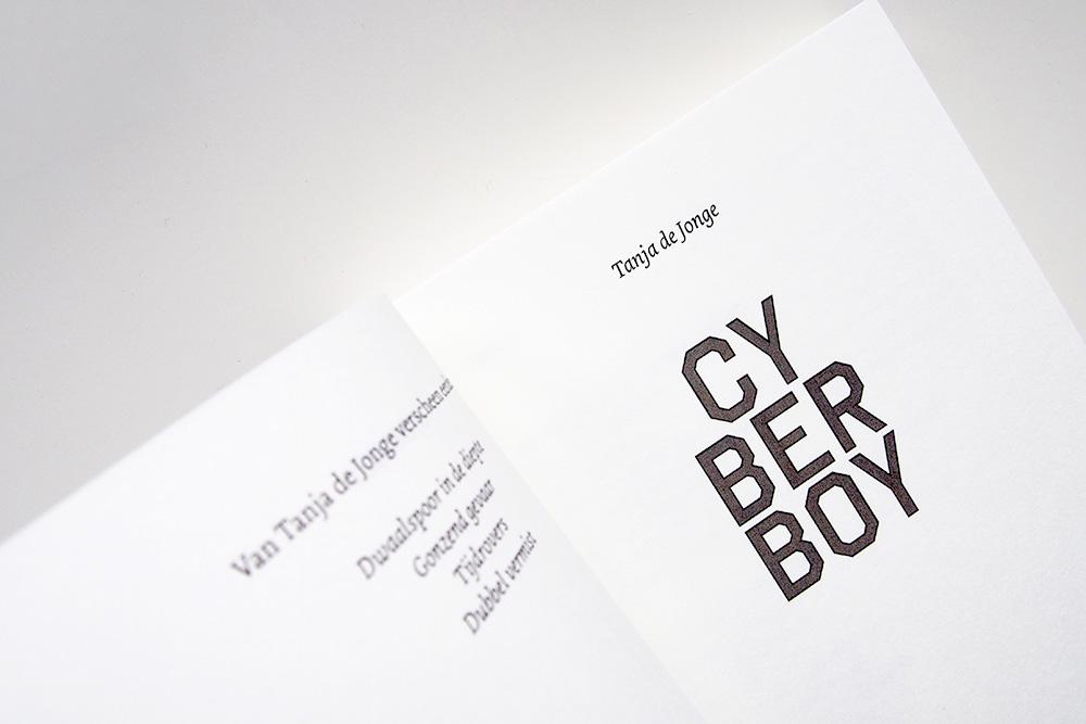 Cyberboy - Tanja de Jonge