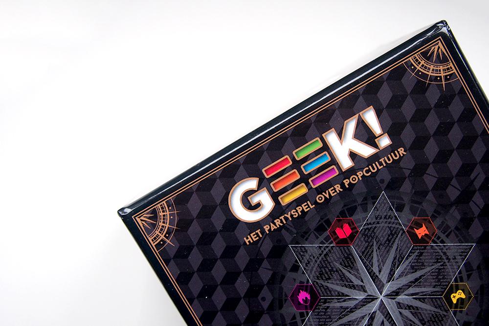 Geek! een partyspel over popcultuur
