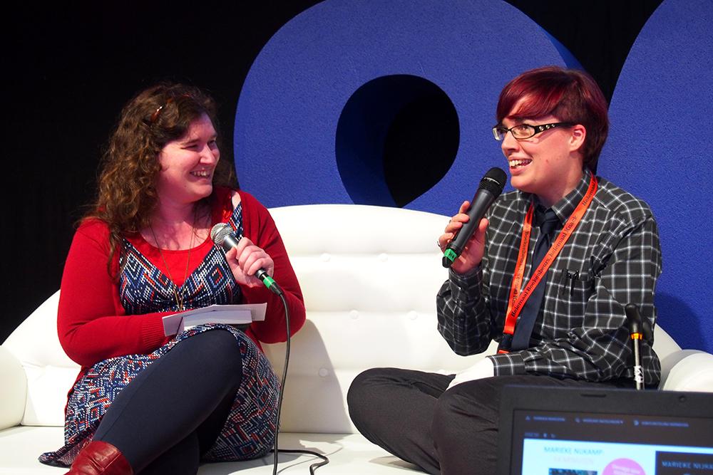Young Adult Convention Boekenbeurs: Marieke Nijkamp
