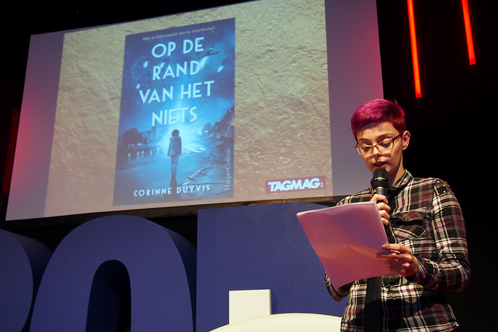 Young Adult Convention Boekenbeurs: Corinne Duyvis