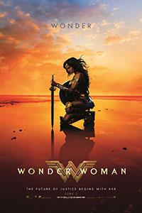 De goddelijke Wonder Woman redt de wereld in bikini