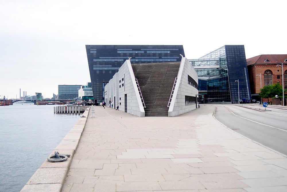 Ik bezocht de bibliotheek van Kopenhagen