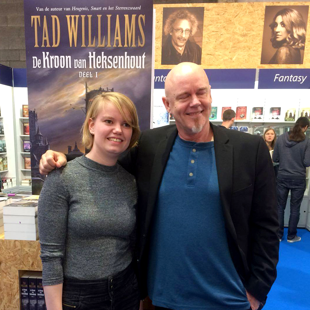 Boekenbeurs: Tad Williams