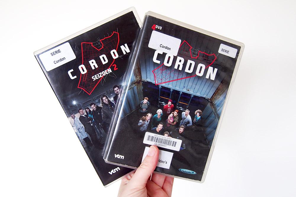 Science Fiction series van eigen bodem: Cordon