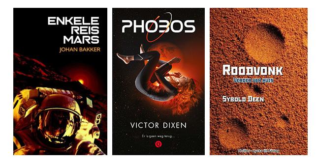 boeken die zich afspelen op Mars