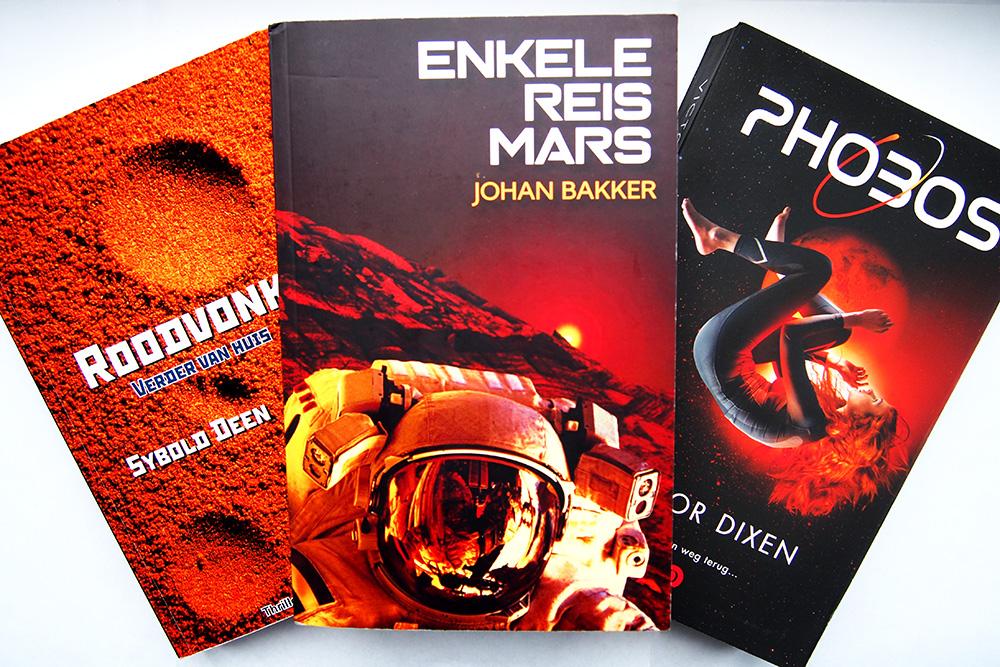 Deze 7 boeken spelen zich af op Mars