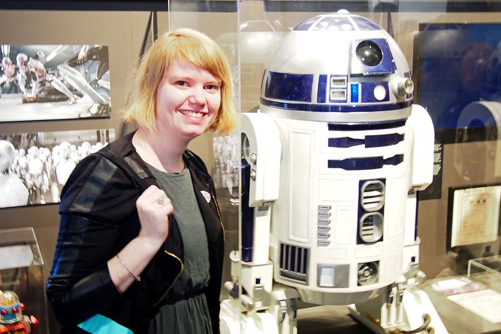 De robot tentoonstelling in Design Museum Gent