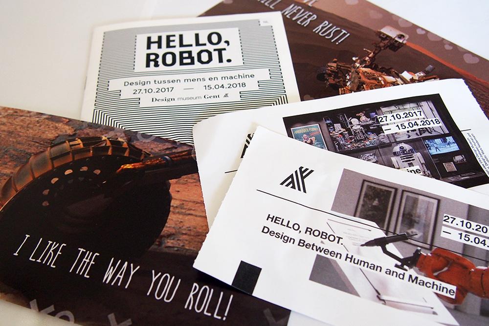 Robots in onze maatschappij: Hello Robot, Design museum Gent