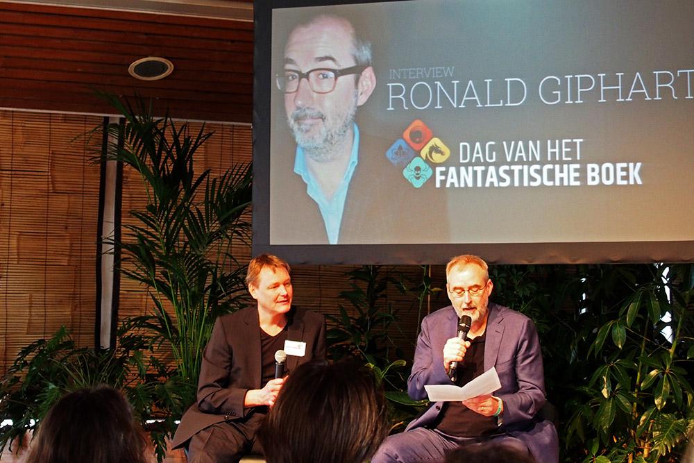 Dag van het Fantastische Boek: Ronald Giphart over Ik Robot