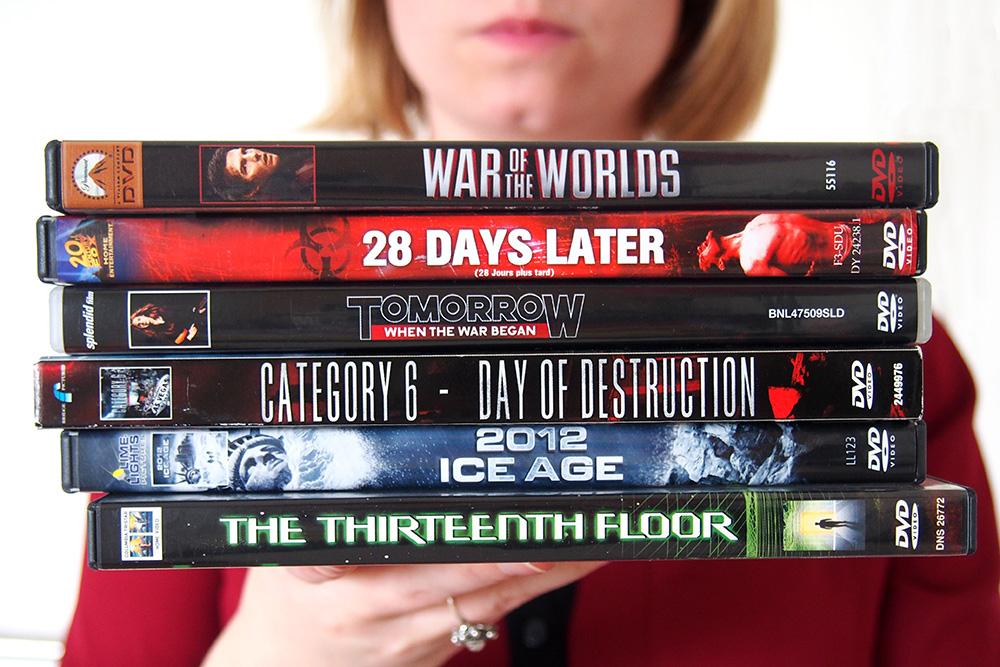 Ik kocht een stapeltje Science Fiction dvd's op de rommelmarkt