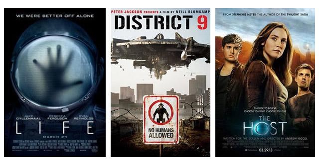 films over buitenaardse wezens