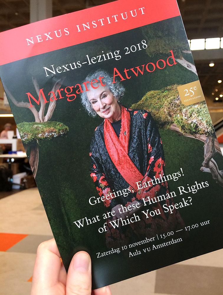 Margaret Atwood Lezing