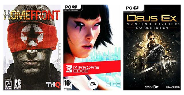 dystopische games