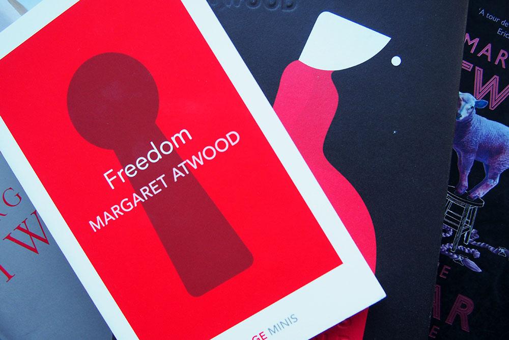 Margaret Atwood stelde mij teleur met Freedom