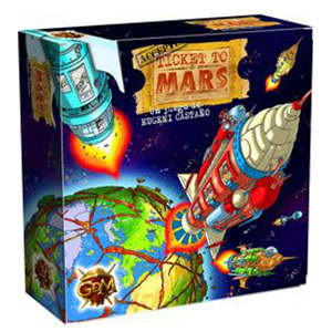 Bordspel: Ticket to Mars