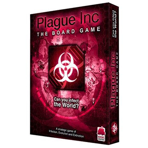 Verspreid zoveel mogelijk bacteriën in Plague Inc.: The Board Game