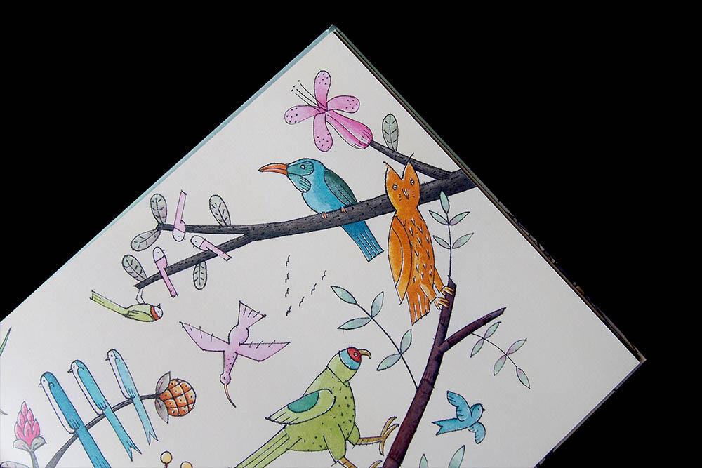 De robot en het blauwe vogeltje - David Lucas