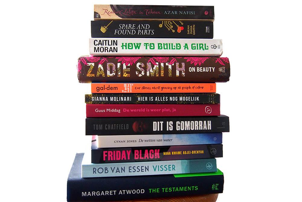 September: twaalf nieuwe boeken en veertien gelezen