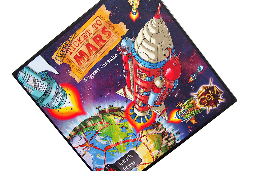 Bordspel: Ticket to Mars