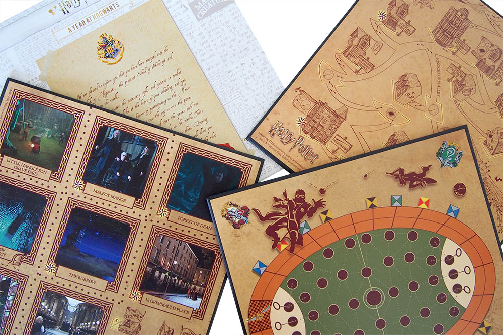 Bordspel: A Year At Hogwarts