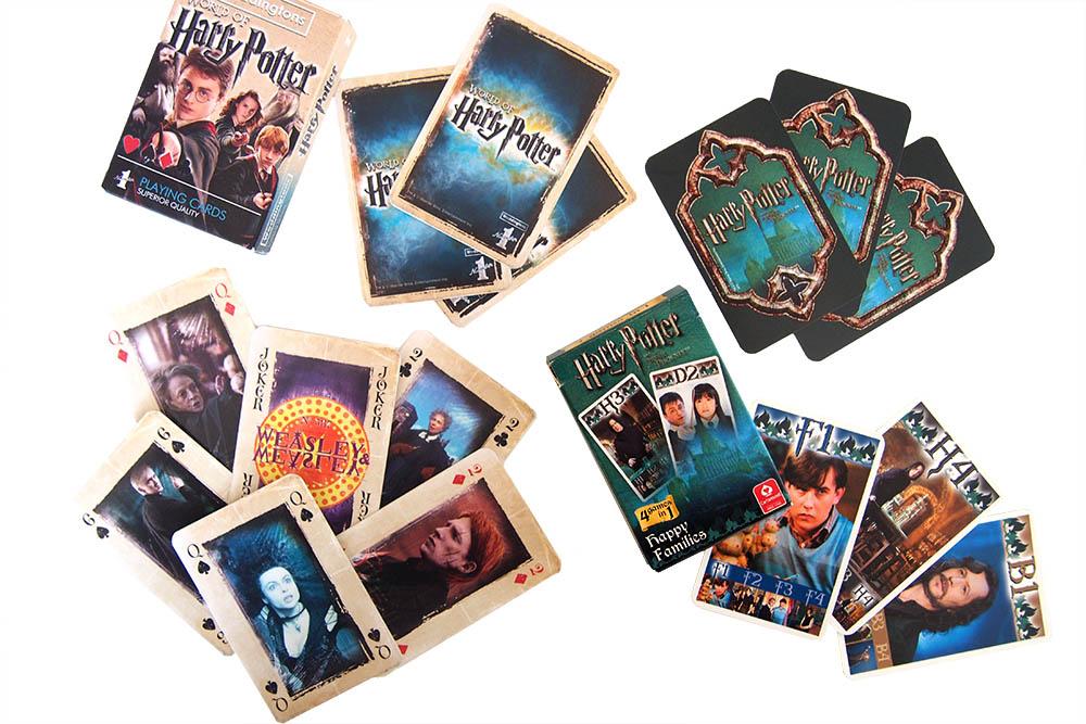 Harry Potter kaartspel en kwartet