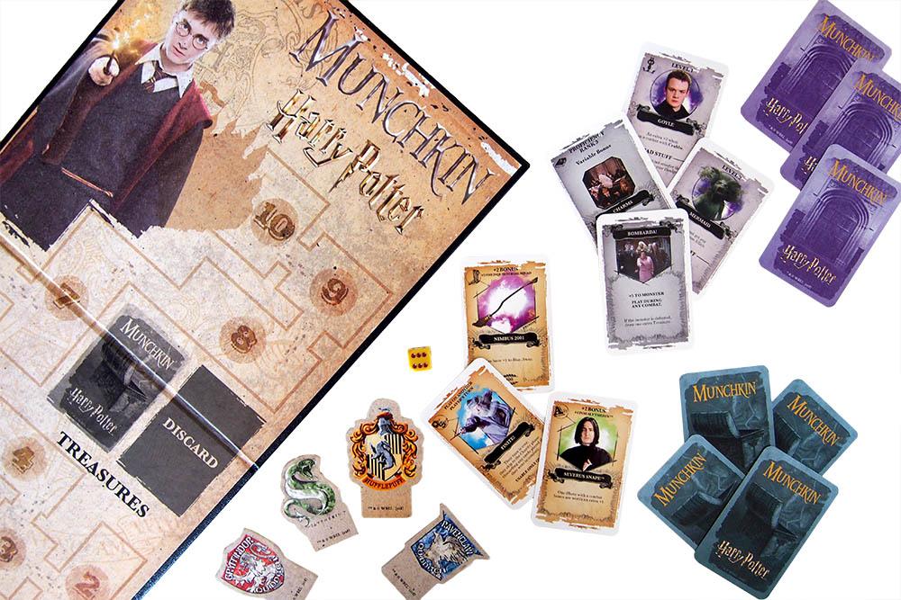 Bordspel: MunchkinHarry Potter Deluxe