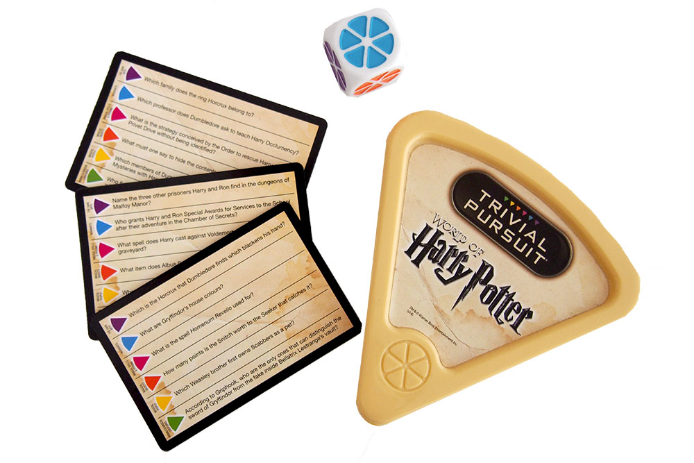 Bordspel: Trivial Pursuit: World of Harry Potter